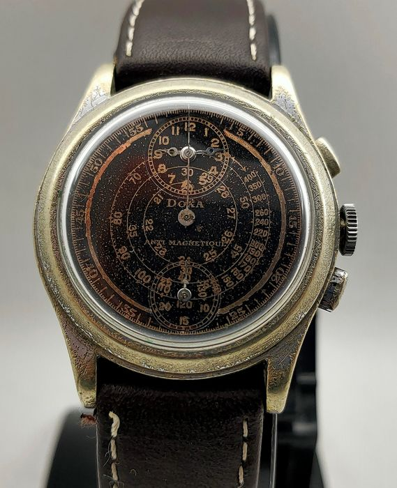 Doxa - Venus 140 Doctor Regulator Chronograph - 4291917 - Hombre - 1901 - 1949