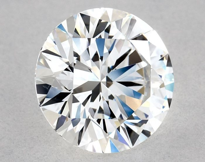 1 pcs Diamante - 1.25 ct - Redondo - E - VS1, GIA - 3EX - Low Reserve Price