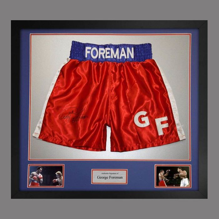 Boxing - George Foreman - 2017 - Boxing trunk
