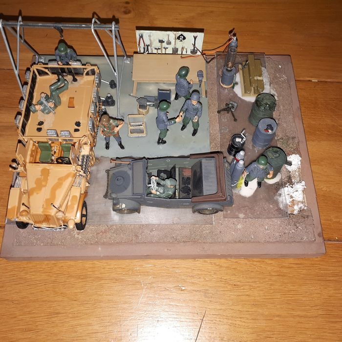 Tamiya - tamiya militaire  char-soldats - soldat-char voiture -militaires maquette - 1940-1949 - Allemagne