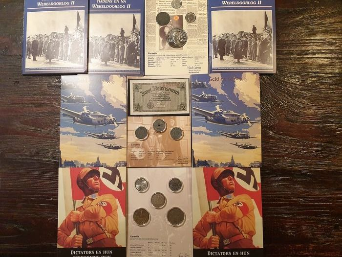 Europe, Pays-Bas - Thema ' Oorlog ' 7 speciale sets