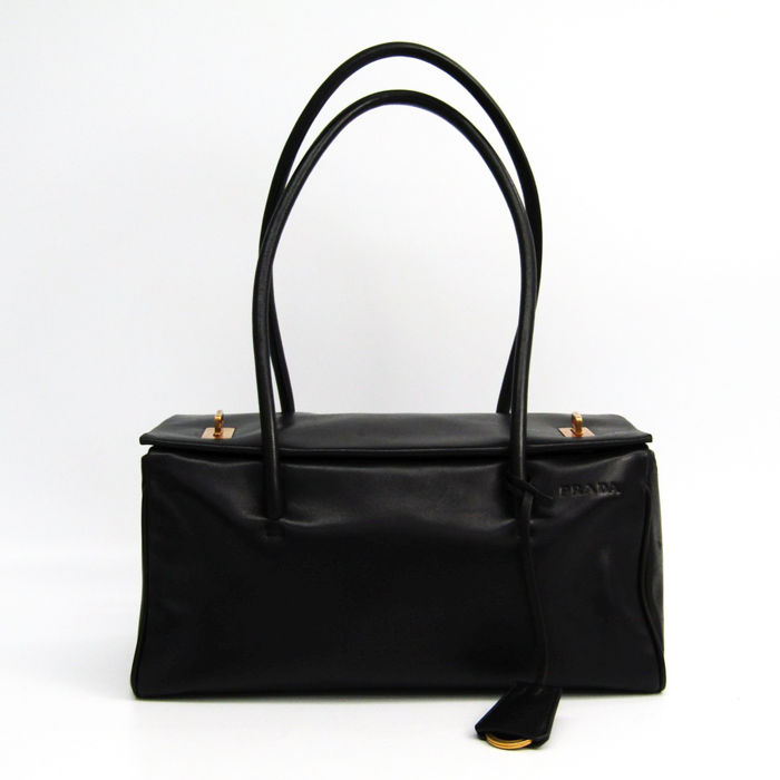 Prada - Nappa Leather Shoulder bag - Catawiki ebab61fba9def