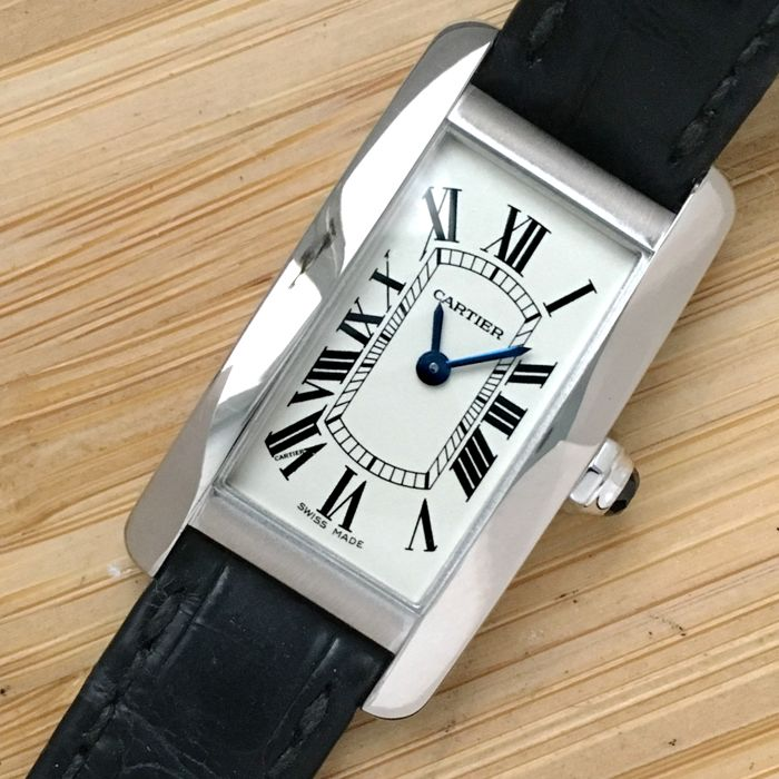 Cartier - Tank Americaine  - Ref. 2489 - Mujer - 2000 - 2010