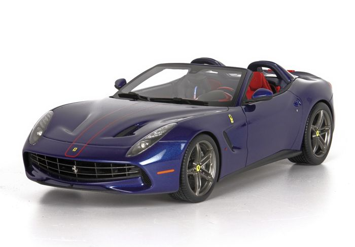 BBR - 1:43 - Ferrari  - F60 America Blue Tour de France - ltd 60 pcs