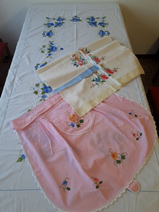 Tablecloth, dishtowels and aprons