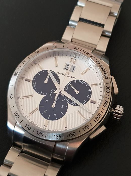 Maurice Lacroix - Miros Chronograph Big Date - as new - MI-1028 - Homem - 2011-presente
