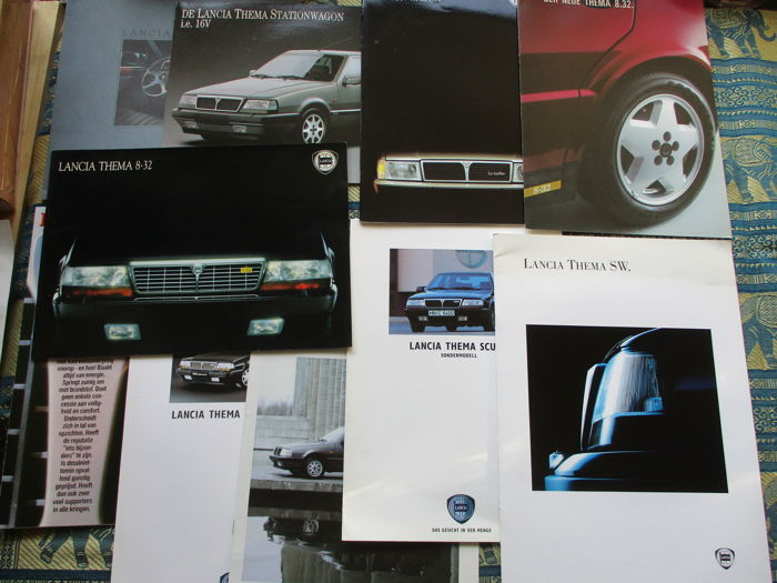 Brochures / catalogues - Lancia Thema (8.32, Station, special models) - 1984-1993