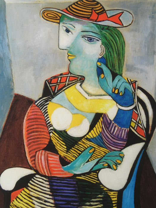 Pablo Picasso (after) - Maria Therese Walter
