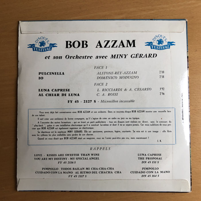 French Chansons from the 50s and 60s - Aznavour, Bécaud