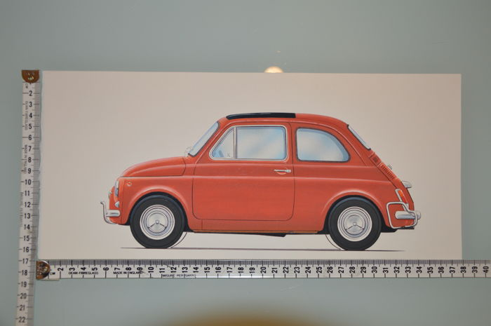 "Decorative object - ""Fiat 500 L"" - 2015 (1 items)"