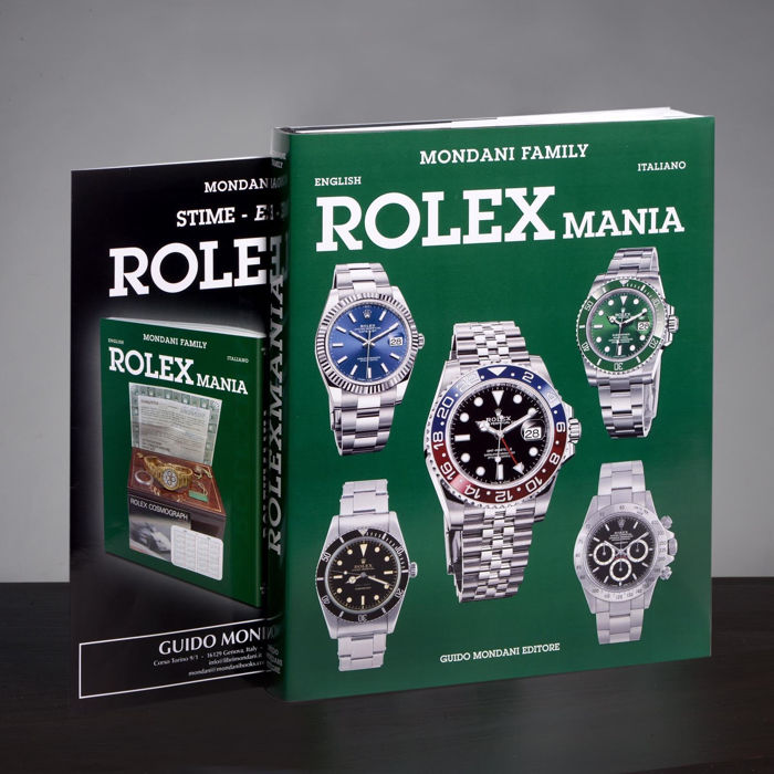 Rolex - Rolex Mania Book by Guido Mondani NEW  - Unisex - None