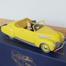 Tintin - Statuette Moulinsart 44501 - Ford Lincoln Zephir  - (2010)