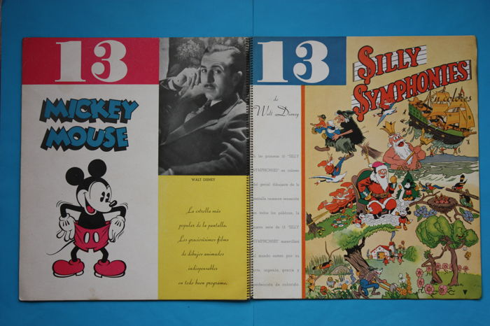 United Artists - Catalogus 1934 1935 - Mickey Mouse + Silly Symphonies - (1934)