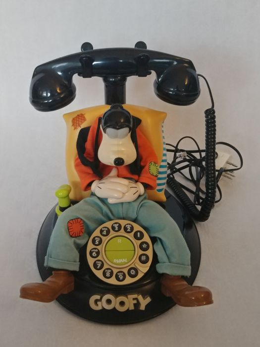 Disney - Animated Talking Telephone - Goofy - (jaren 90)