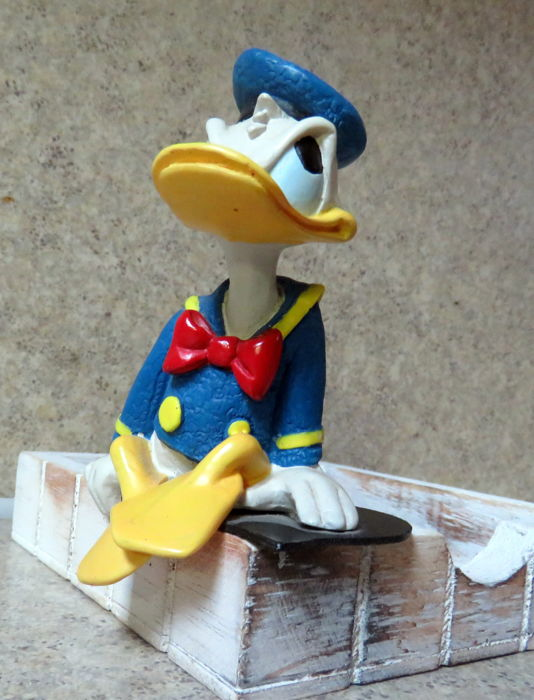 Disney - Beeldje Enesco -  Donald Duck: That's Donald - Angry Thoughts