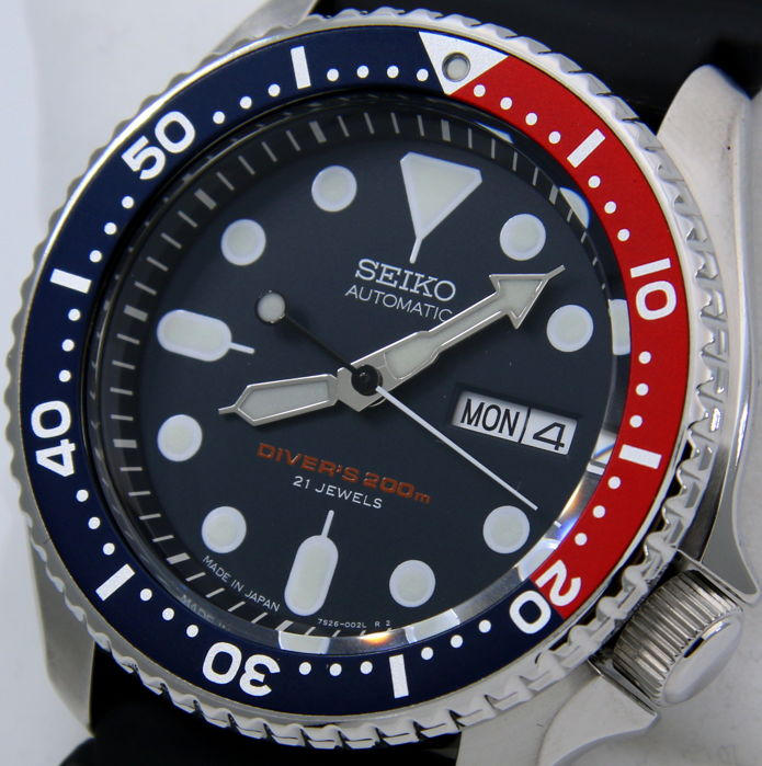 "Seiko - Scuba Automatic Made in Japan - ""NO RESERVE PRICE"" - Men - 2018"