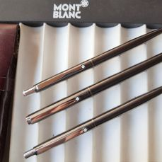 Montblanc - Nobless triple set - FP, BP and MP - Dark grey