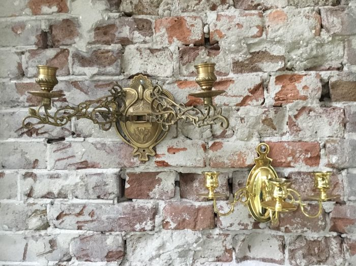 wall sconces - Brass