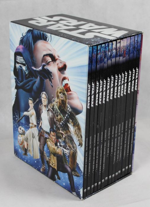 Star Wars - 14 hardcovers in box - First edition - (2017)