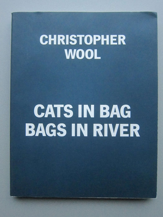 Christopher Wool - Cats in Bag Bags in River - 1991 - 1991