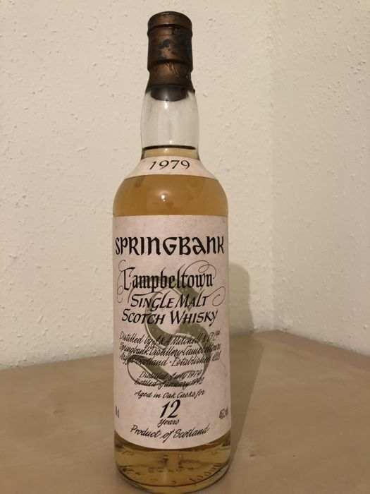 Springbank 1979 12 years old - Original bottling - 700ml