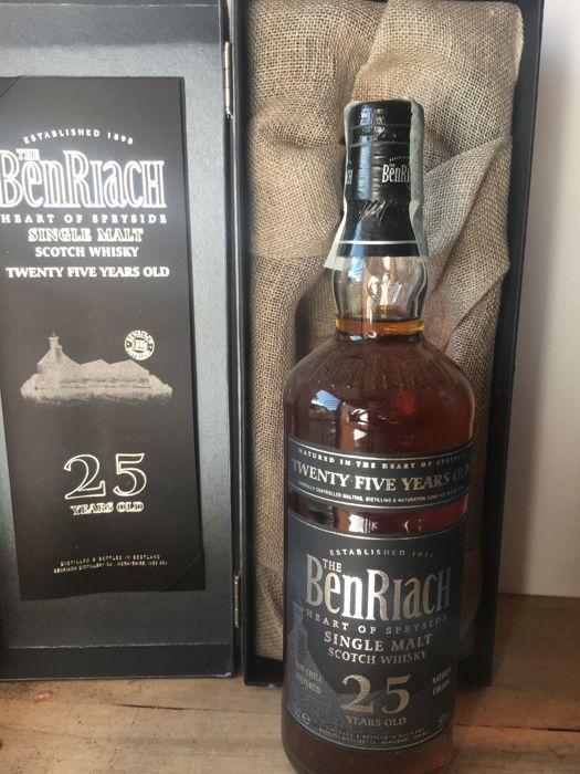 Benriach 25 years old - b. 2006 - 70cl
