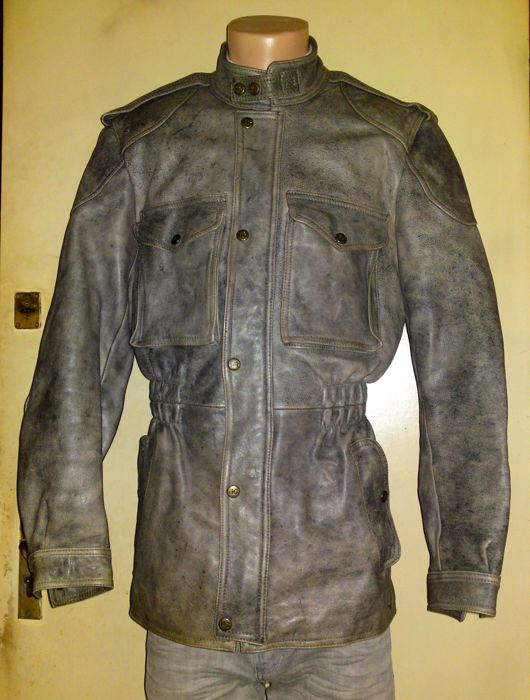 Clothing - HEIN GERICKE 3/4 Tour Master Lawndale Heavyleather Motorcycle Biker Jacket - 1970