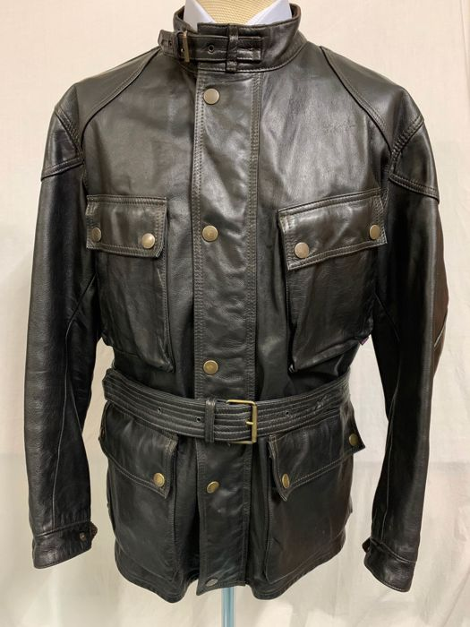 a5ab5fa878 Belstaff - Leather jacket, Panther Leather Jacket - Catawiki