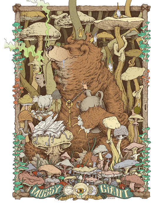 Mossy Giant - Fungi Forest