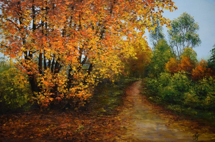 Beata Puskarczyk - Autumn alley