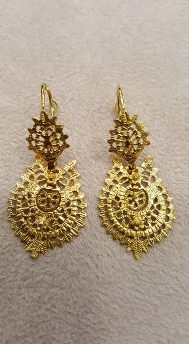 Tradicional Portugueses - 19,2 kt. Yellow gold - Earrings