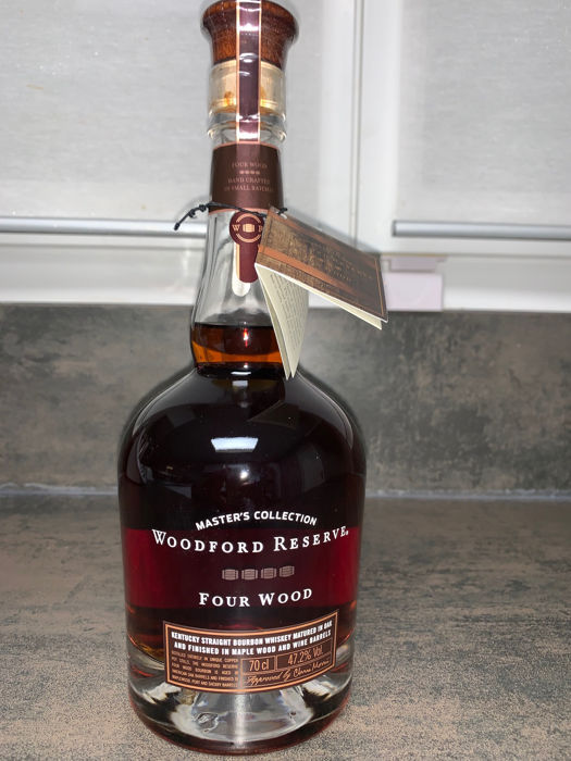 Woodford Reserve Master's Collection Four Wood - Official bottling - 0.7 L