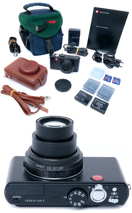 Leica D-LUX 3 10.0 MP Digital Camera complete kit all MINT. Cameras & Optical Equipment for sale