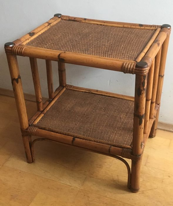 Bamboo side table, Side table Interior & Lifestyle Mediterranean Interior & Lifestyle, used for sale