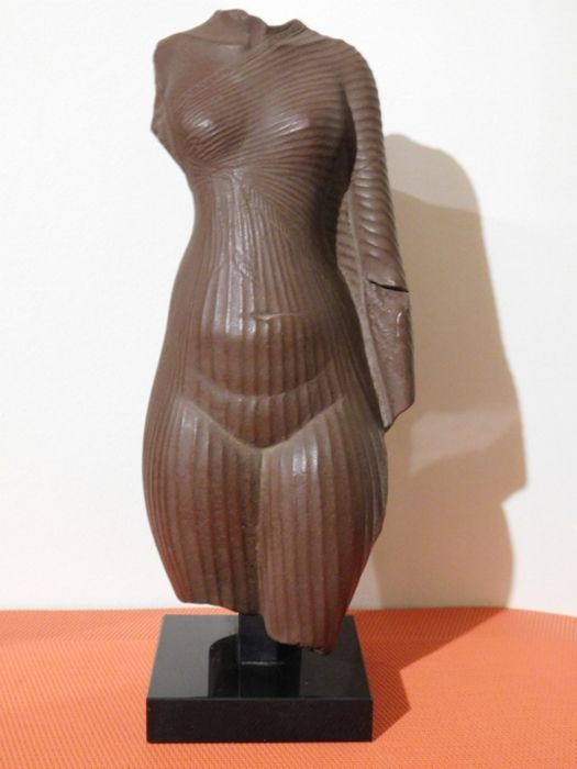 molding statue of the louvre - Resin/Polyester