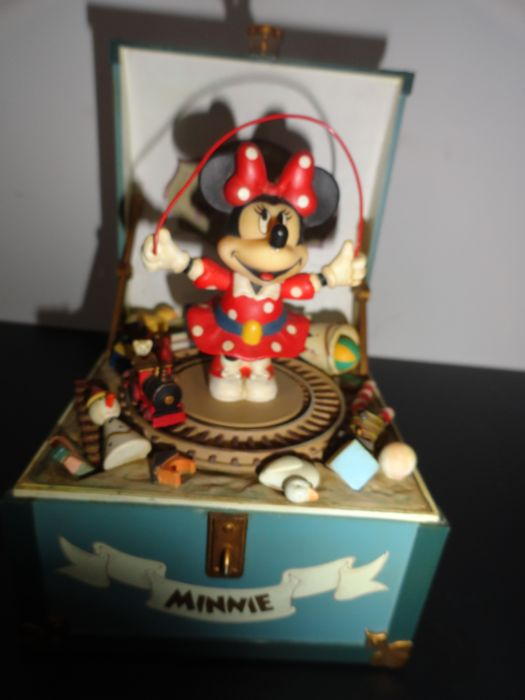 Disney - Musicbox Schmid  - Minnie Mouse - Minnie's Toy Chest - (1980)