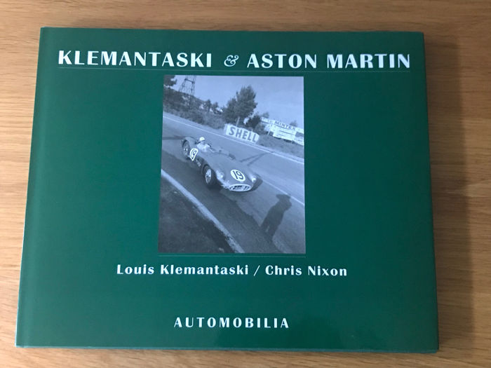 Libros - Klemantaski & Aston Martin by Klemantaski and Chris Nixon - 1998-1998