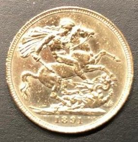 United Kingdom - Sovereign 1891 Victoria - Gold