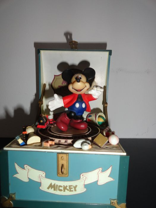Disney - Musicbox Schmid - Mickey Mouse - Mickey's Toy Chest
