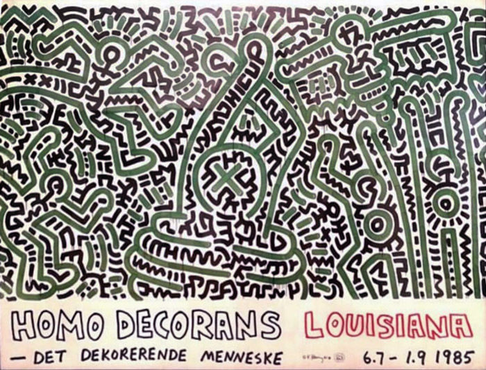 Keith Haring - Homo Decorans - 1985