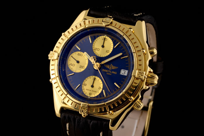Breitling - Chronograph Gold 18K Automatic - K13047X - Heren - 1980-1989