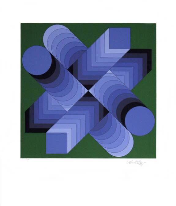 Victor Vasarely - Sees