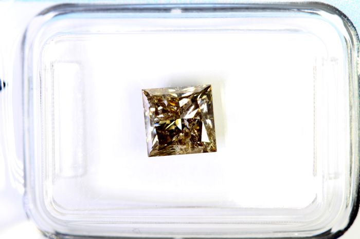 Diamante - 1.52 ct - Princesa -  IGI Certificate - * NO RESERVE PRICE *