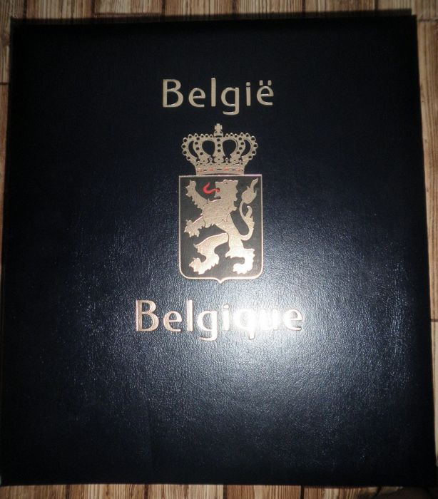 """België - """"Back of the book"""" collection in Davo I album"""
