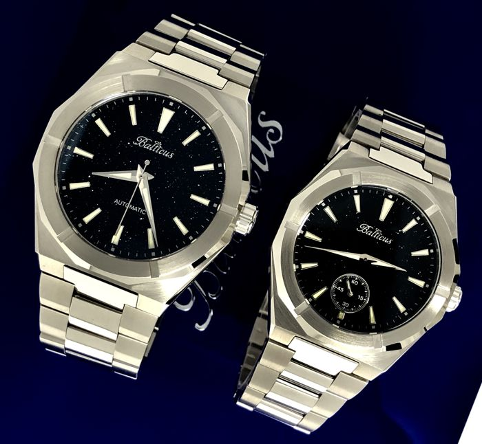 "Balticus - Couples watches Star Dust Aventurine Dial Stainless Steel  - ""NO RESERVE PRICE"" - Uomo - 2011-presente"