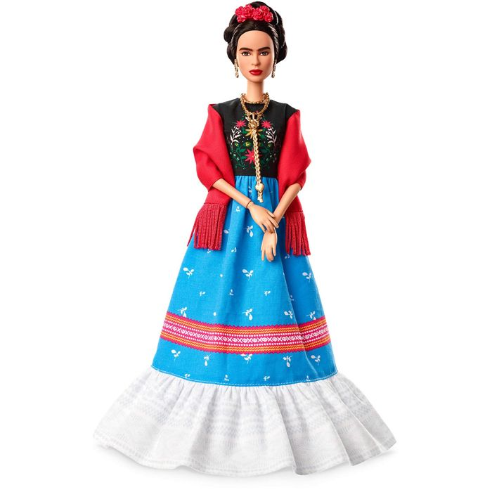 Barbie -  Inspiring Women Series - Doll Frida Kahlo Barbie - 2000-present