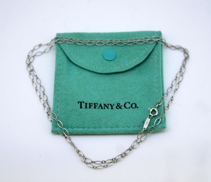 Tiffany - 18 quilates Oro blanco - Collar