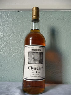 Clynelish 11 years old Selected & imported by Jensen & Son. Sherry Cask - Very limited edition only 60 bottles - 70厘升