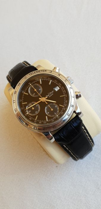 "Paul Picot -  Geneve - Automatic Chronograph - Telemeter ""NO RESERVE PRICE"" - Reference 613-400-4002 - Men - 2000-2010"