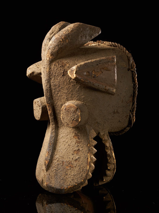 Mask - Wood - Senufo - Ivory Coast
